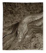 Twisted Root Fleece Blanket