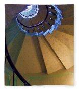 twisted stairs Vizcaya Fleece Blanket