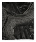 Twisted Tree Fleece Blanket