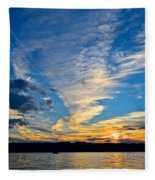 Twister Cloud Fleece Blanket