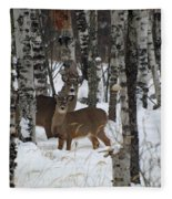 Two Are Better Than One Fleece Blanket