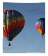 Two Balloons Fleece Blanket
