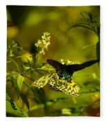 Two Beautiful Creations Fleece Blanket