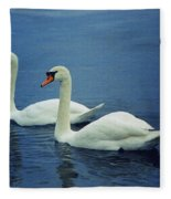 Two In Life Fleece Blanket