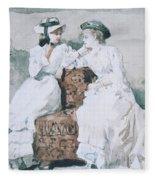 Two Ladies Fleece Blanket