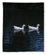 Two Of A Kind Fleece Blanket