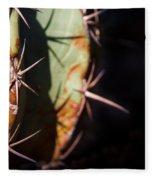 Two Shades Of Cactus Fleece Blanket