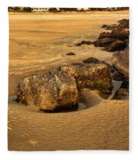 Tybee Island Fleece Blanket
