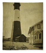 Tybee Island Light Station Fleece Blanket