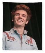 Tyler Hilton Fleece Blanket