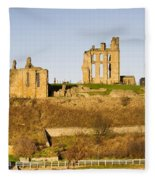Tynemouth Priory And Castle Fleece Blanket