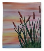 Typha Fleece Blanket