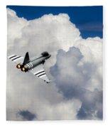 Typhoon Fighter  Fleece Blanket