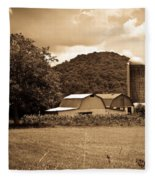 Typical Farm Place 1 Fleece Blanket