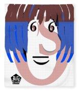 Typortraiture Ringo Starr Fleece Blanket