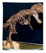 Tyrannosaurus Rex Fleece Blanket