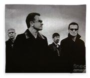 U2 Fleece Blanket