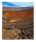 Ubehebe At Death Valley Fleece Blanket