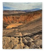 Ubehebe Crater Fleece Blanket
