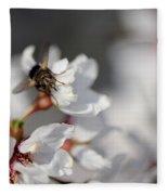 Ugly Pollinator Fleece Blanket