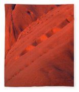 Uluru 1 Fleece Blanket
