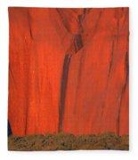 Uluru 2 Fleece Blanket