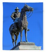Ulysses S. Grant Guards The United States Capitol Fleece Blanket