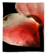 Anthurium  Fleece Blanket