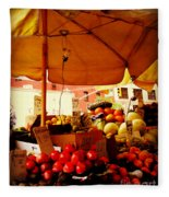 Umbrella Fruitstand - Autumn Bounty Fleece Blanket