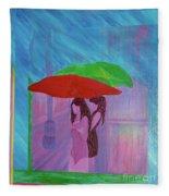 Umbrella Girls Fleece Blanket