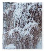 Umbrella Tree Fleece Blanket