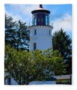 Umpqua River Lighthouse Fleece Blanket