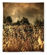 Un Illusione Fleece Blanket