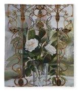 Una Finestra Liberty Fleece Blanket
