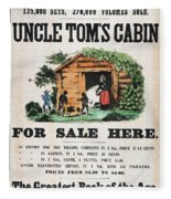 Uncle Tom's Cabin, C1860 Fleece Blanket