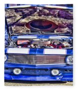 Under The Hood Fleece Blanket