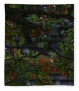 Under The Old Oak Tree Fleece Blanket