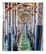 Under The Pier Fleece Blanket