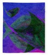 Under The Sea Painterly Fleece Blanket