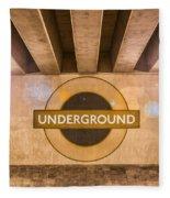 Underground Underground Fleece Blanket
