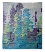 Underwater Symphony Fleece Blanket