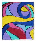 Unfurling Fleece Blanket