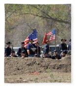 Union Artillery Embankment Fleece Blanket