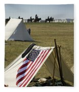 Union Encampment Fleece Blanket