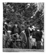 Union Gun Crew Fleece Blanket
