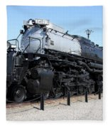 Union Pacific Big Boy Fleece Blanket