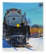 Union Pacific Challenger Fleece Blanket