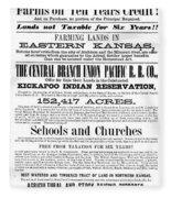 Union Pacific Poster, 1867 Fleece Blanket