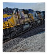 Union Pacific Southbound Fleece Blanket