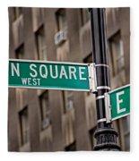 Union Square West I Fleece Blanket